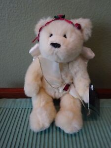 "Ganz Bros Plush 10"" Angel Bear - Felicity Heritage Collection"