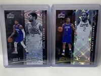 Panini Black Los Angeles Clippers Lot Kawhi Leonard 15/25 and Paul George 59/65