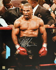 """Mike Tyson Autographed Signed 16x20 Photo """"IN RAGE"""" ASI Proof"""