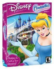 Disney Princess Cinderellas Castle Designer Game PC CD-ROM 2003 NEW
