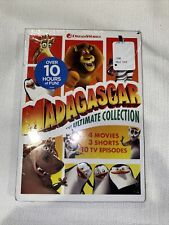 Madagascar The Ultimate Collection DVD 4 Movies 3 Shorts 10 Episodes - SEALED