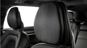 Kopfkissen Kopfstütze Volvo Leder Schwarz 31470565