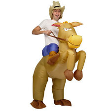 Inflatable Horse Cowboy Suit Halloween Fun & Fancy Dress Costume