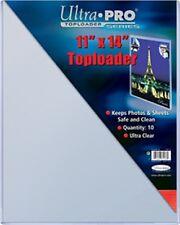 """Ultra Pro Toploader 11""""x14"""" Clear Card Holder 20 Pack [NEW] Case Top Loader CDG"""