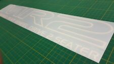 Toyota MR2 MK1 AW11 W10 Twin Cam 16 rear screen glass Decal Sticker Replacement