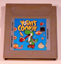 Yoshi's Cookie Nintendo Gameboy Cleaned and Tested Game Boy Video Game Yoshis