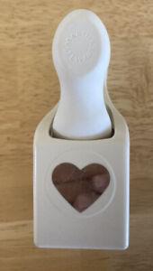 Martha Stewart Heart Paper Punch Scrapbooking Cardmaking Crafts Valentines