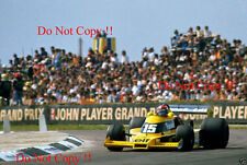 Jean-Pierre JABOUILLE RENAULT RS01 BRITISH GRAND PRIX 1977 Fotografia