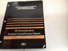 1999 Ford 7.3L POWERSTROKE DIESEL Powertrain Control Emission Service Manual OEM