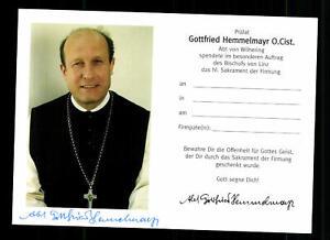 Gottfried Hemmelmayr 73. Abt des Zisterzienserstiftes Wilhering #BC 181239