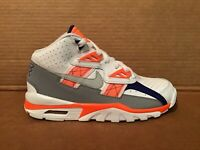 Nike Air Trainer SC GS grey/white/orange size 4Y