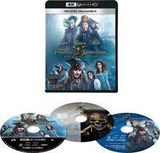 Pirates of the Caribbean Dead Men Tell No Tales 4K ULTRA HD + 3D + Blu-ray Japan