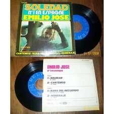 EMILIO JOSE - Soledad rare French EP Latin Spain Folk 74