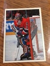 PANINI HOCKEY 1990-91 PATRICK ROY STICKER 323 MONTREAL CANADIENS