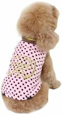 Dobaz Turtle Neck Dots Coat Large, 33 x 48 x 31 cm, Pink