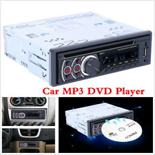 Single 1 Din Car DVD CD MP3 Player FM In-Dash Audio Radio BT USB/AUX/SD Stereo