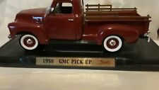 1:18 SCALE DIECAST 1950 GMC PICK UP TRUCK IN Maroon  BY ROAD SIGNATURE