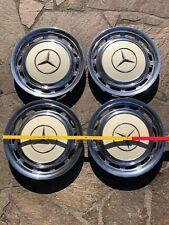 Mercedes 14 Zoll Oldtimer Radkappen weiss
