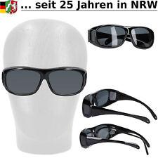 Überbrille Sonnenbrille Aufsatz für Brillen Lesebrillen Sonnenschutz Brille