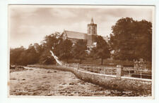 Dunblane Cathedral Promenade And Allan Water Perthshire 1931 Real Photograph
