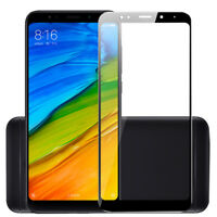 For Xiaomi Redmi 5/5Plus 5A Tempered Glass Screen Protector 3D Full Cover /bw