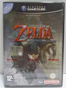 THE LEGEND OF ZELDA TWILIGHT PRINCESS NINTENDO GAME CUBE - NEW SEALED PAL