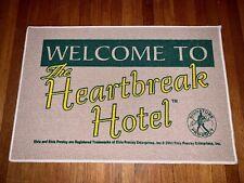 Elvis Heartbreak Hotel Rug- Memphis - Graceland - Last Of Inventory