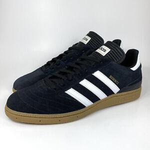 Adidas Busenitz Pro Skateboarding Shoes Size 11 Men's G48060 Black Suede Sneaker