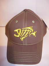 G. LOOMIS 3D SKELETON FISH FOREST GREEN FISHING GHAT120CCSMLFO  BASEBALL CAP