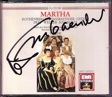 Brigitte FASSBAENDER Signiert FLOTOW: MARTHA Rothenberger Gedda Prey HEGER 2CD