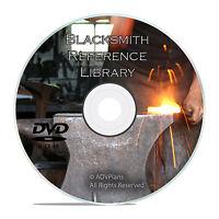Vintage Blacksmith Reference Book Collection, Forging Steel, 175+ Books DVD V30