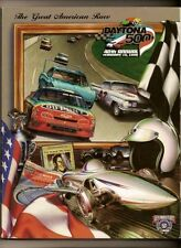 1998 Daytona 500 Program Dale Earnhardt win #71 Nascar
