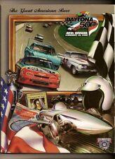 1998 Daytona 500 Program Dale Earnhardt win #71 Nascar