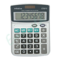 8 Digit Semi Desktop Calculator Fixed Angle Display Large Keys - Fast Dispatch