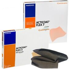 """ACTICOAT Flex 3 Silver Dressing 4"""" x 8"""" # 66800417 """"One Individual Dressing"""""""