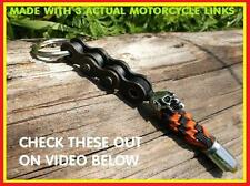 NEW HARLEY DAVIDSON COLOR PARACORD WILLIE G MOTORCYCLE KEY CHAIN SKULL 45 BULLET