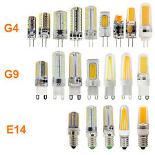 Dimmable E14 G4 G9 LED 2/3/4/5/6/7/8/9W Light COB Filament Capsule Corn Bulb 12V