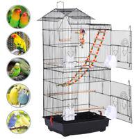 Cage Oiseaux Volière Perroquet Canaries Perruche Canaris Metal Jouets 1 échelle