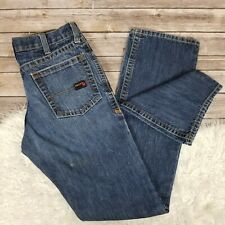 ARIAT Flame Resistant FR Denim Jeans Men's 33 x 38 M4 Low Rise Boot cut - Tall