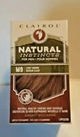 Lot 3 Clairol Natural Instincts for Men Hair Color M9 Light Brown Brand New