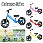 "Balance Bike 12"" Adjustable No-Pedal Kids Ride Toy Push Bicycle Toddler Scooter"