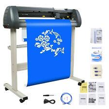 34 Plotter Vinyl Cutter Sign Cutting Machine Software 3 Blades Lcd Screen Us