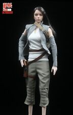 1/6 Rey Resistance Army Female Clothing Suits Combat Uniforms Girl Costume