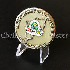 Marine Security Guard Detachment MSG Maputo Mozambique Embassy Challenge Coin