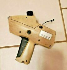Beige Price Tag Label Gun Pitney Bowes Parts Repair Untested