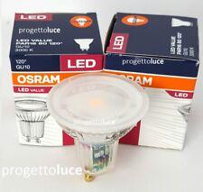 LAMPADA LED FARETTO INCASSO GU10 DA 6,9W SPOTLIGHT OSRAM 120° 6,9W=80W