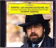 Giuseppe SINOPOLI: LOU SALOME Jose Carreras Lucia Popp DG CD Salomé Suite 1 & 2