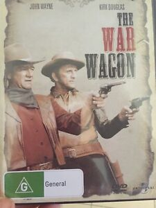 THE WAR WAGON - JOHN WAYNE / KIRK DOUGLAS - NEW & SEALED R2,4 &5 *FREE STD POST*