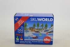 SIKU 5592 Paquete de accesorios wasserwege incl. Barco para MUNDO 1:50 NUEVO
