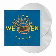 Ween Godweensatan Live Hope PA 2001 2x LP Record White Color Vinyl